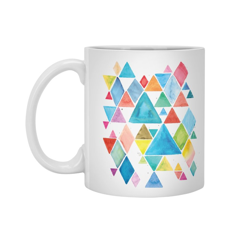 Mountain Ranges Accessories Standard Mug by Gintron