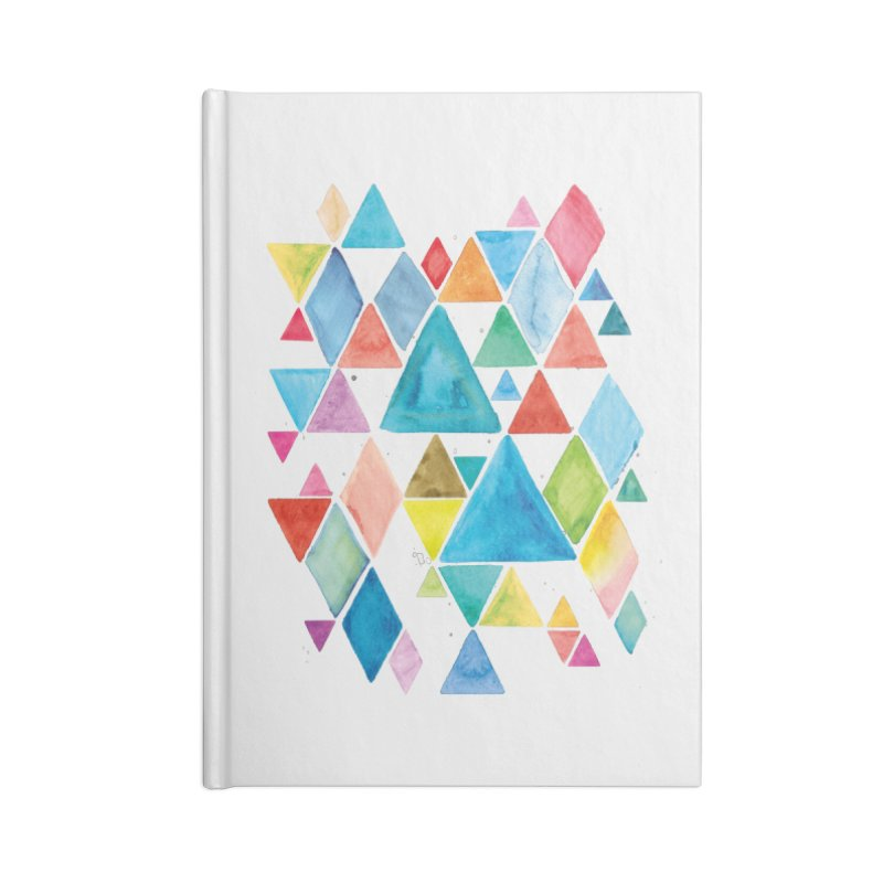 Mountain Ranges Accessories Notebook by Gintron