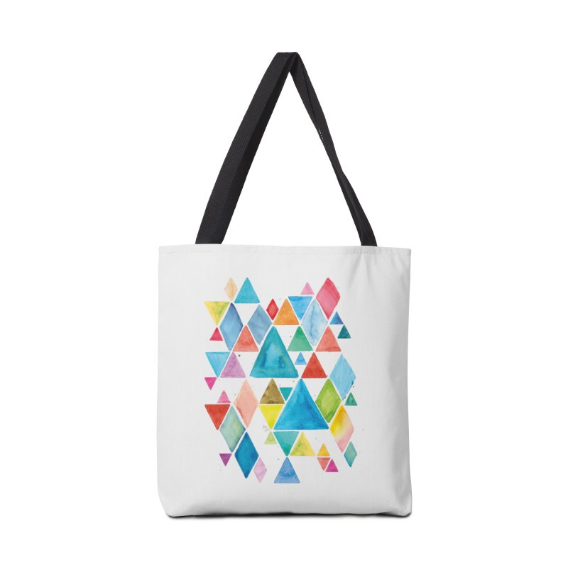Mountain Ranges Accessories Bag by gintron's Artist Shop