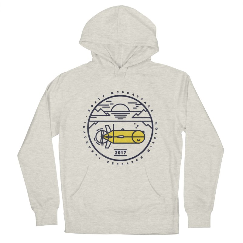 Boaty McBoatface Launch Men's French Terry Pullover Hoody by gintron's Artist Shop