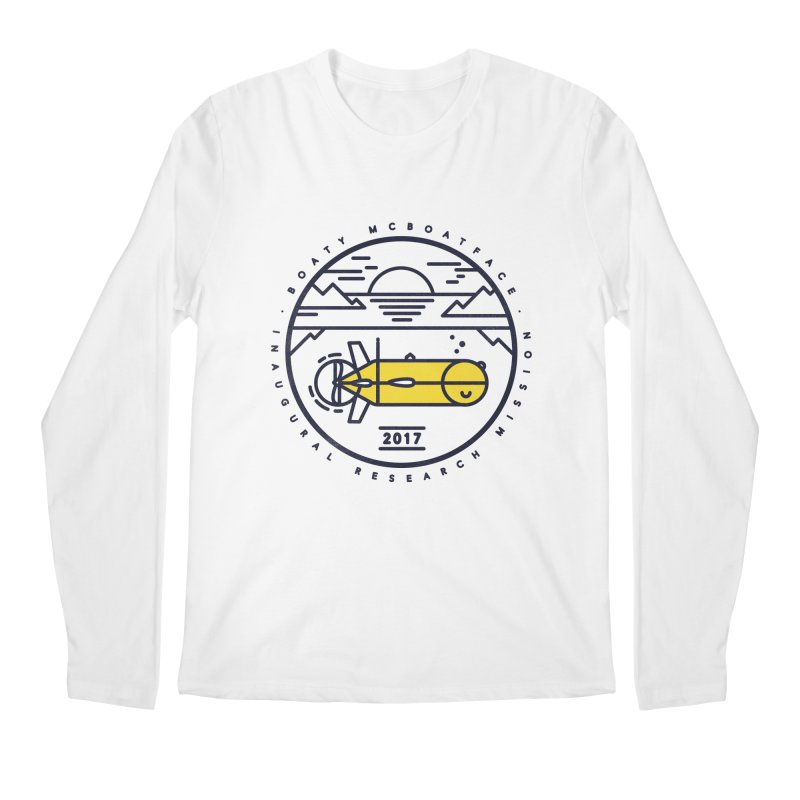 Boaty McBoatface Launch Men's Regular Longsleeve T-Shirt by gintron's Artist Shop