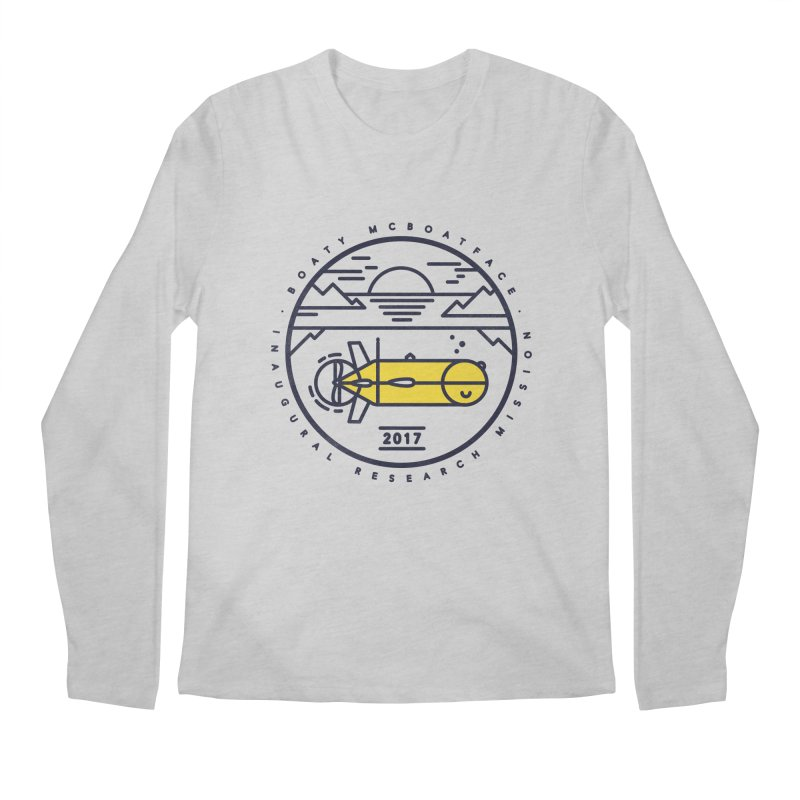Boaty McBoatface Launch Men's Longsleeve T-Shirt by gintron's Artist Shop