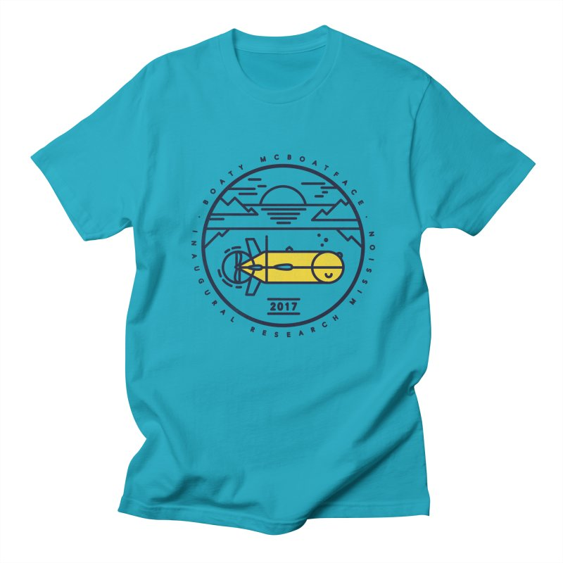 Boaty McBoatface Launch Women's Unisex T-Shirt by gintron's Artist Shop
