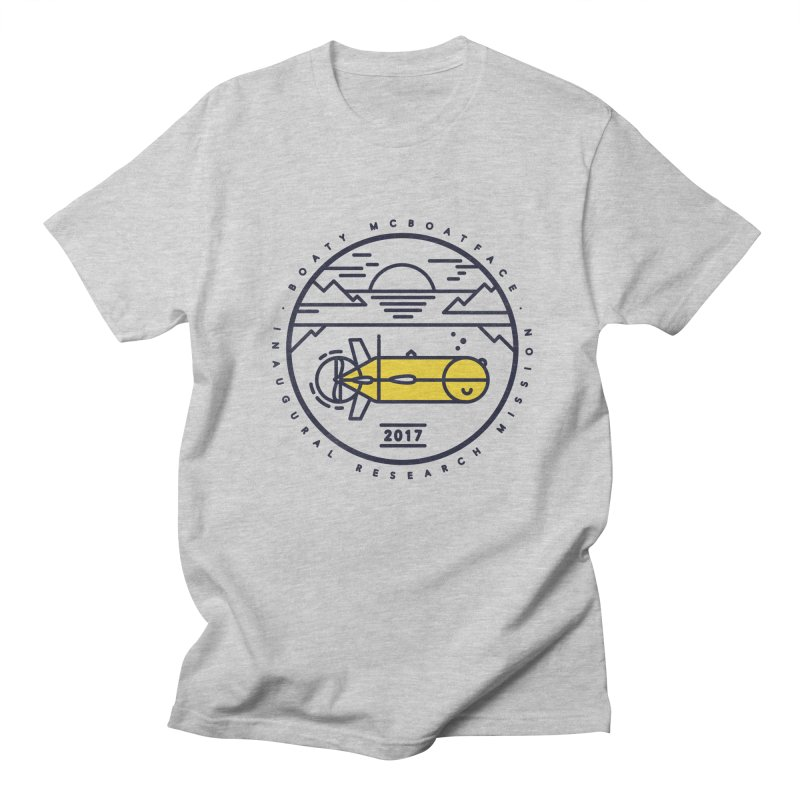 Boaty McBoatface Launch Men's T-shirt by gintron's Artist Shop