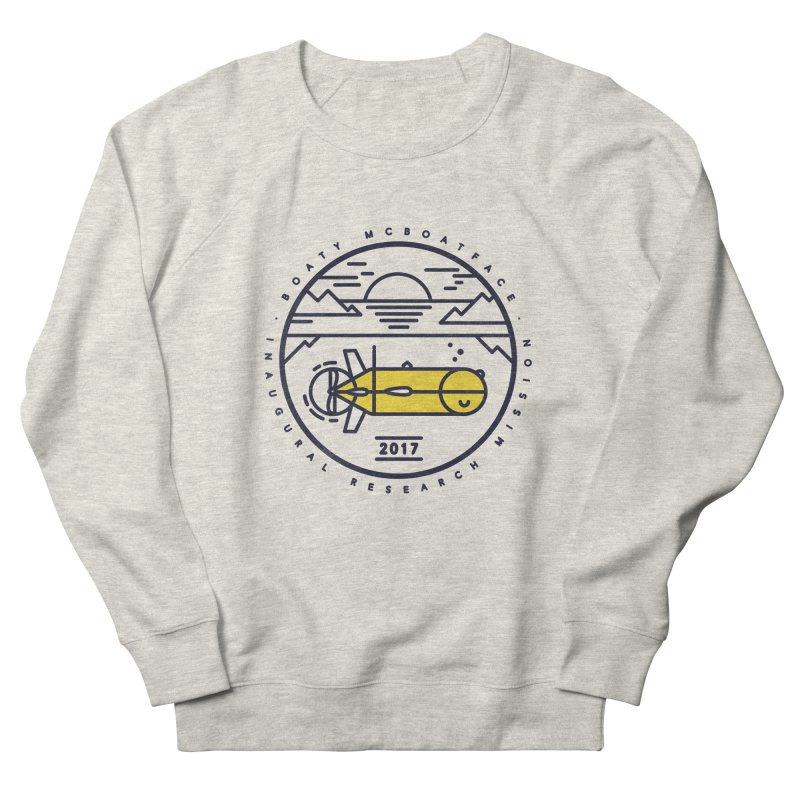 Boaty McBoatface Launch Women's French Terry Sweatshirt by gintron's Artist Shop