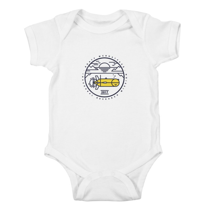 Boaty McBoatface Launch Kids Baby Bodysuit by gintron's Artist Shop