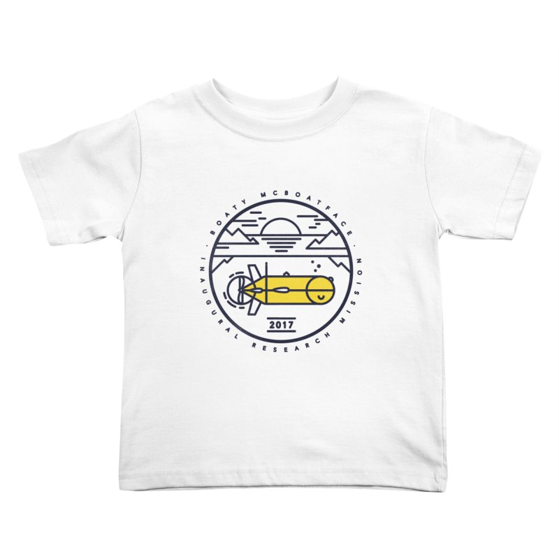 Boaty McBoatface Launch Kids Toddler T-Shirt by gintron's Artist Shop
