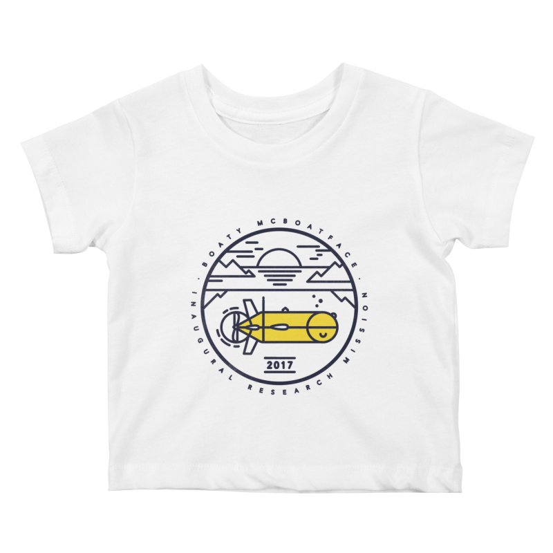 Boaty McBoatface Launch Kids Baby T-Shirt by gintron's Artist Shop