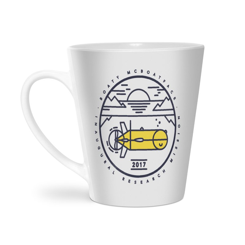 Boaty McBoatface Launch Accessories Latte Mug by Gintron