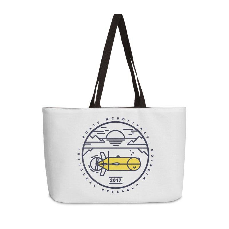 Boaty McBoatface Launch Accessories Weekender Bag Bag by Gintron