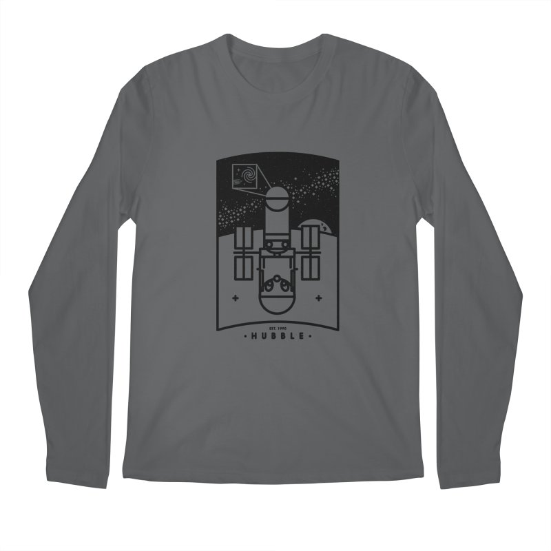 Hubble Men's Regular Longsleeve T-Shirt by gintron's Artist Shop