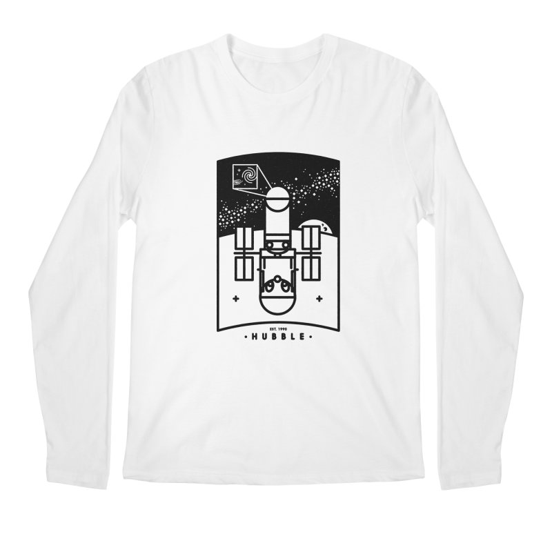 Hubble Men's Longsleeve T-Shirt by gintron's Artist Shop