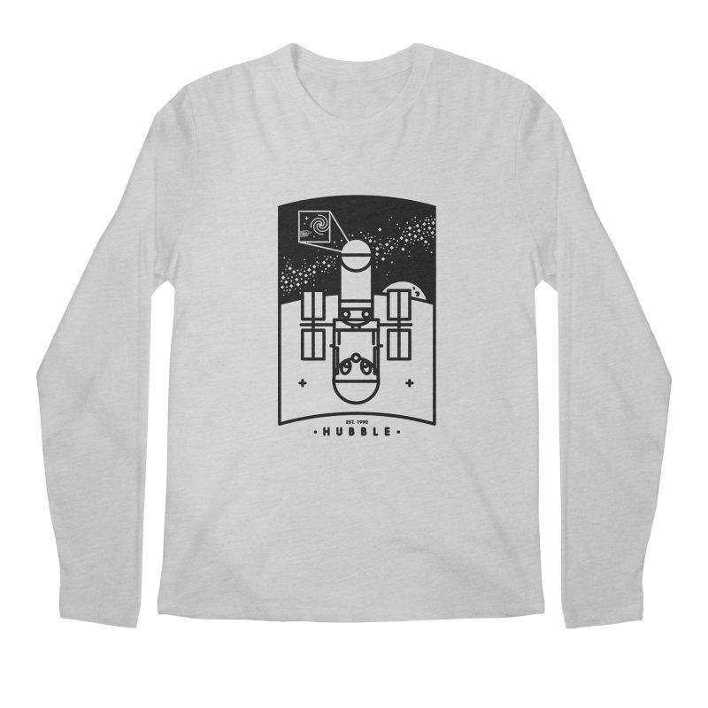 Hubble Men's Regular Longsleeve T-Shirt by gintron's Artist Shop