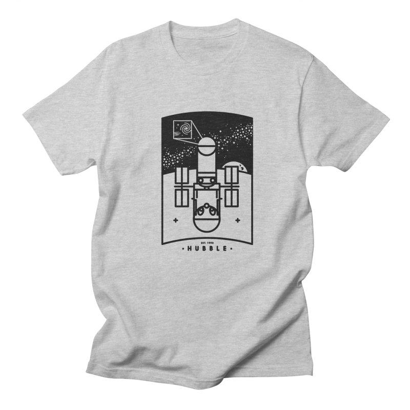 Hubble Men's T-shirt by gintron's Artist Shop