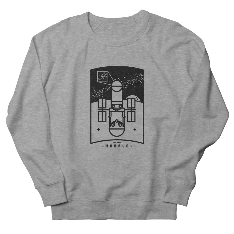 Hubble Women's French Terry Sweatshirt by gintron's Artist Shop