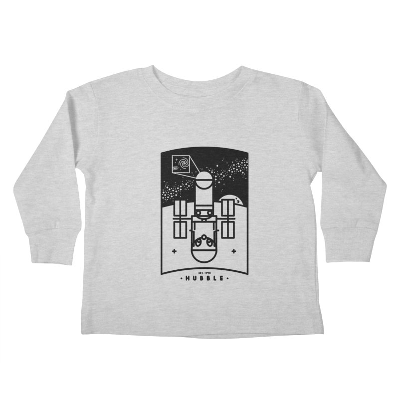 Hubble Kids Toddler Longsleeve T-Shirt by gintron's Artist Shop
