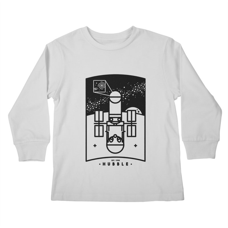 Hubble Kids Longsleeve T-Shirt by Gintron