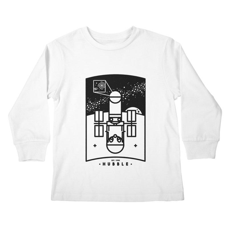 Hubble Kids Longsleeve T-Shirt by Gintron