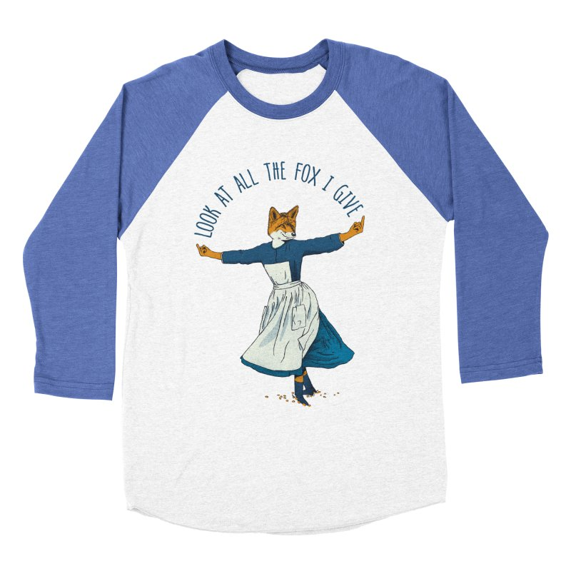 Look At All The Fox I Give - V1 Women's Longsleeve T-Shirt by Gintron