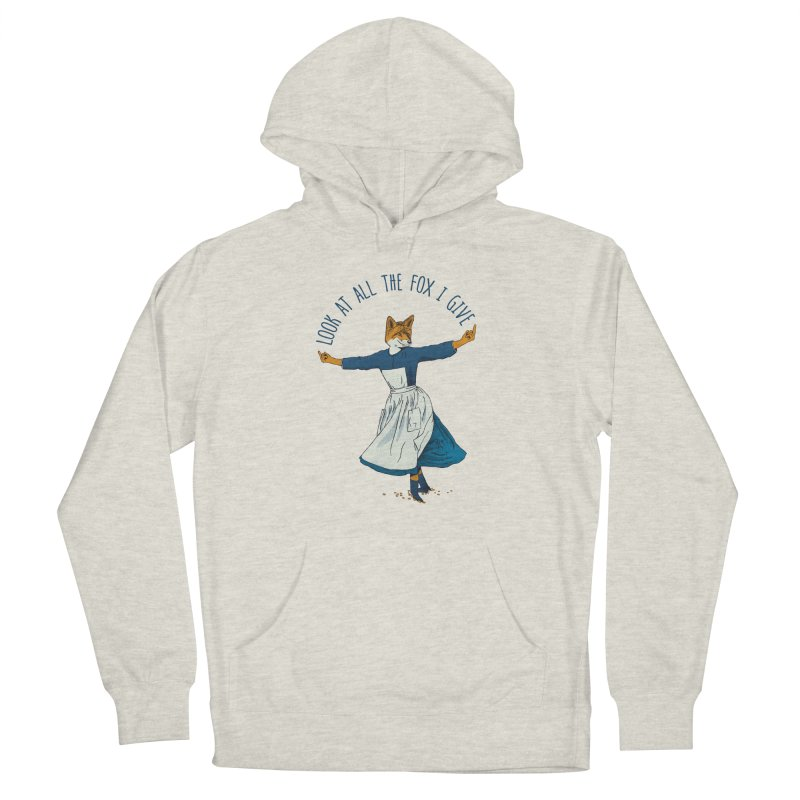 Look At All The Fox I Give - V1 Women's Pullover Hoody by Gintron