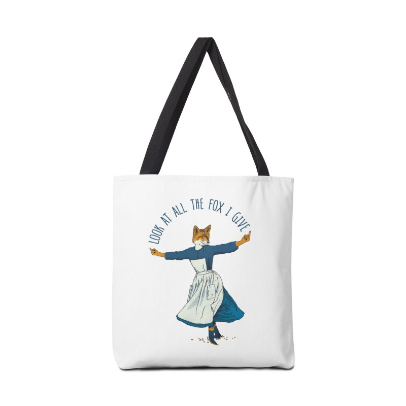 Look At All The Fox I Give - V1 Accessories Bag by gintron's Artist Shop