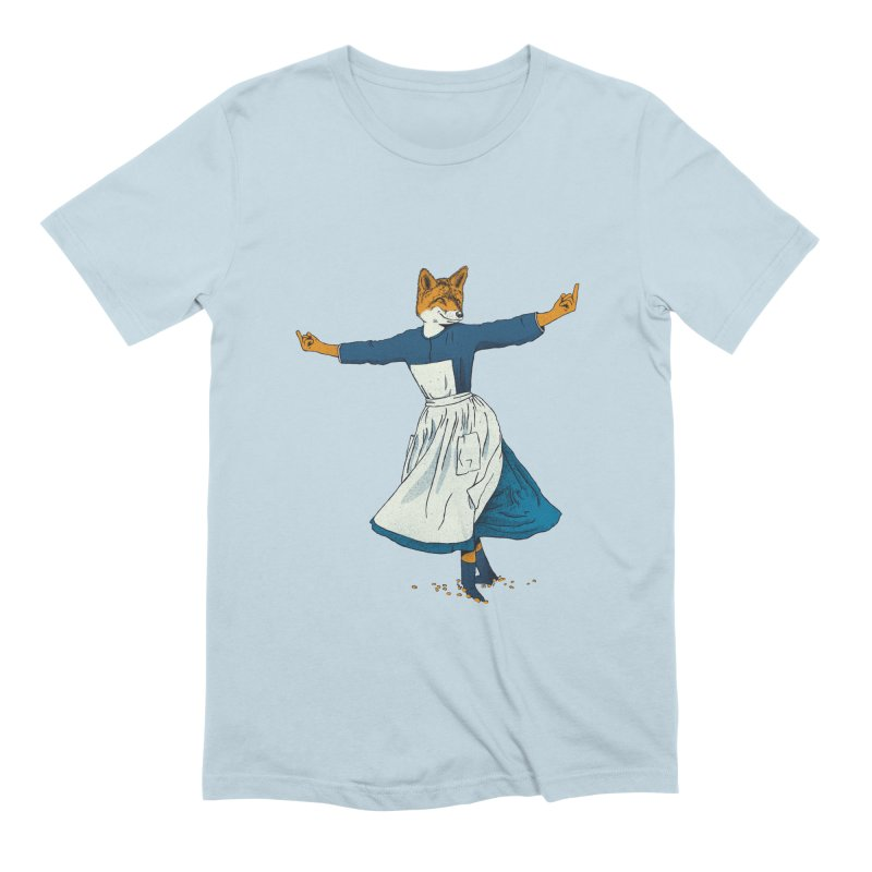Look At All The Fox I Give - V2 Men's Extra Soft T-Shirt by Gintron