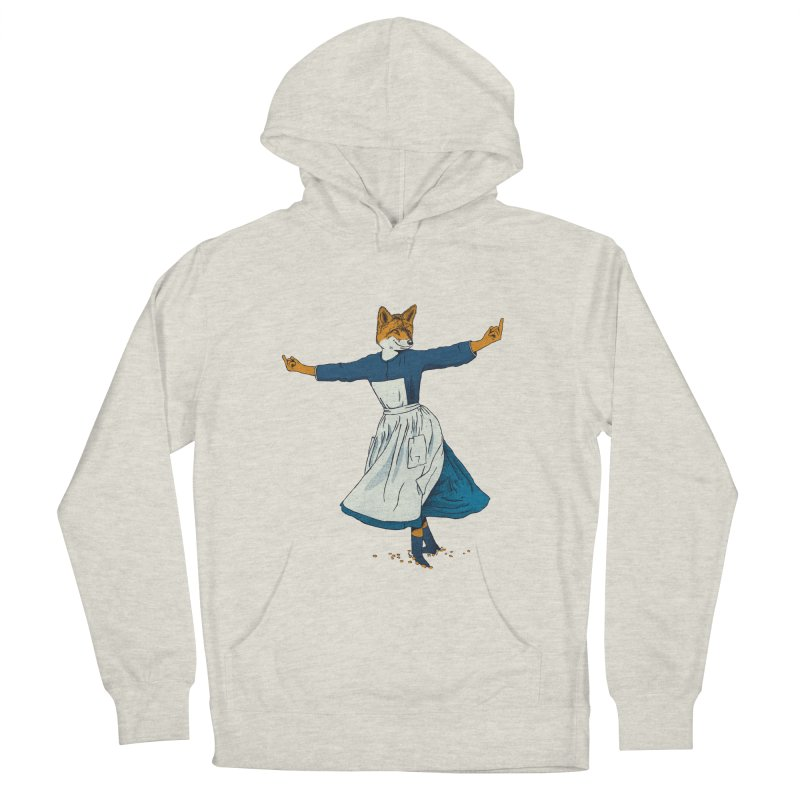 Look At All The Fox I Give - V2 Men's French Terry Pullover Hoody by gintron's Artist Shop