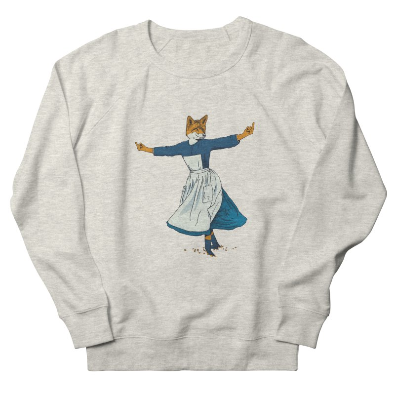 Look At All The Fox I Give - V2 Men's French Terry Sweatshirt by gintron's Artist Shop