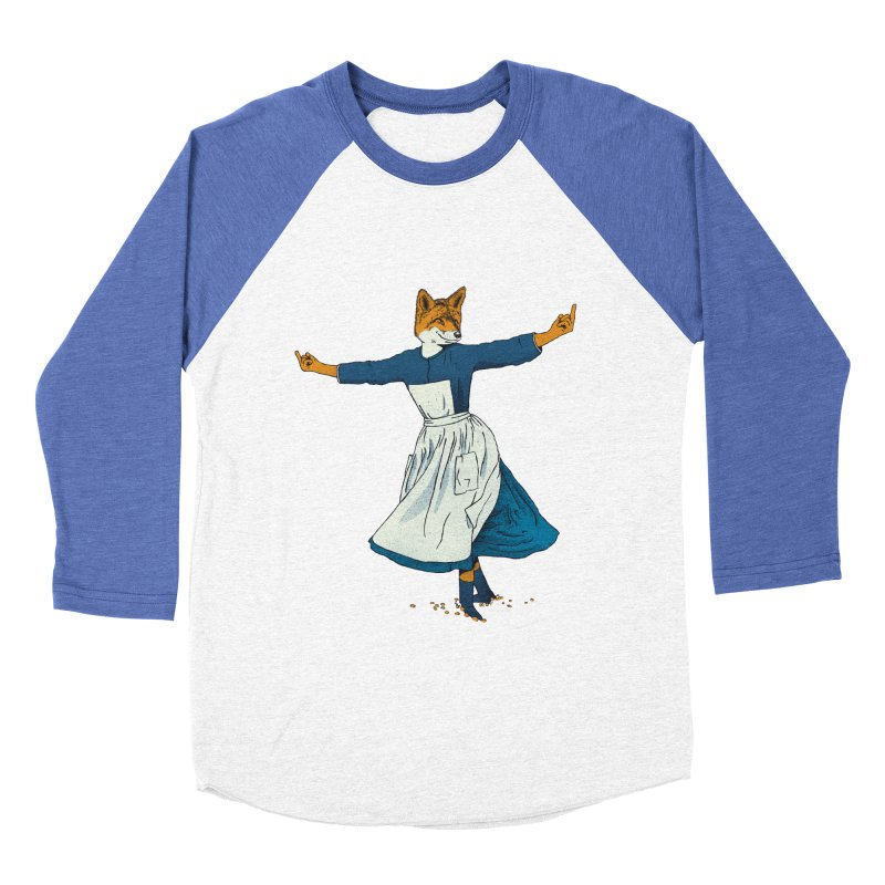 Look At All The Fox I Give - V2 Women's Baseball Triblend Longsleeve T-Shirt by gintron's Artist Shop