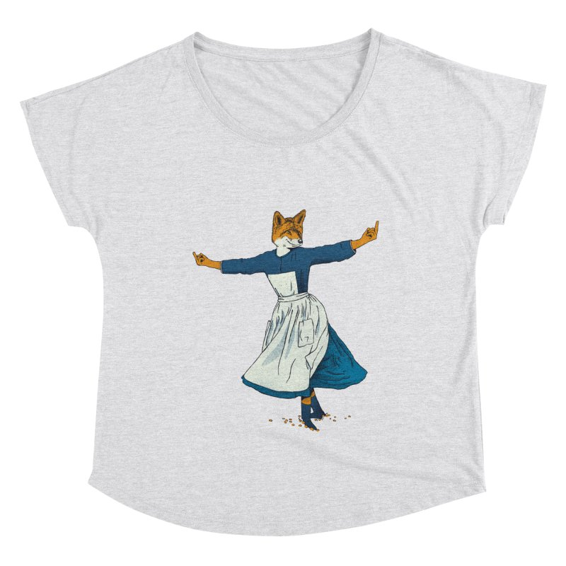 Look At All The Fox I Give - V2 Women's Scoop Neck by Gintron