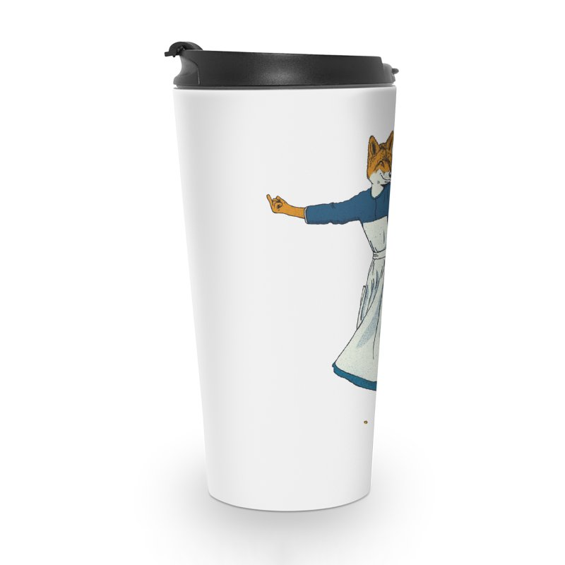 Look At All The Fox I Give - V2 Accessories Travel Mug by Gintron