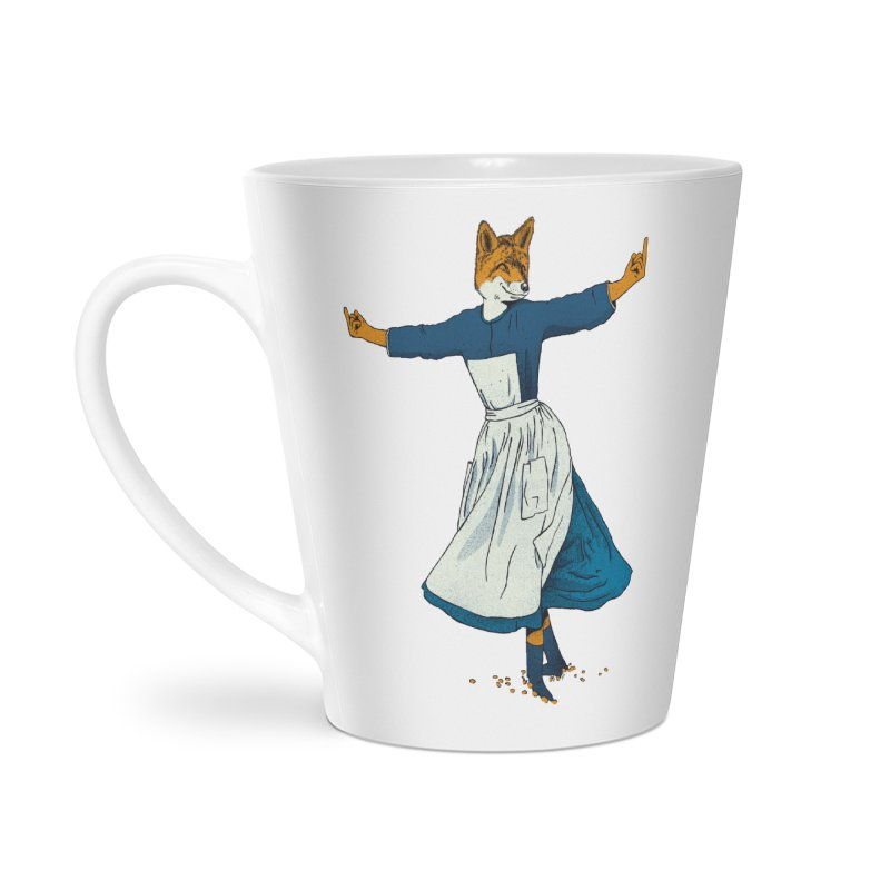 Look At All The Fox I Give - V2 Accessories Latte Mug by Gintron