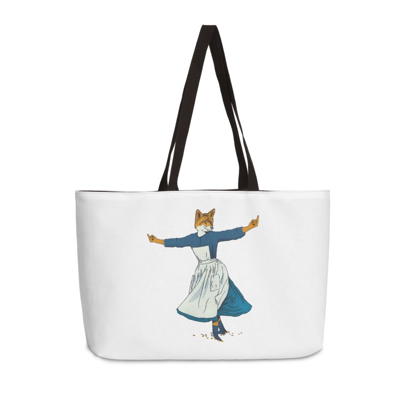 Look At All The Fox I Give - V2 Accessories Weekender Bag Bag by Gintron