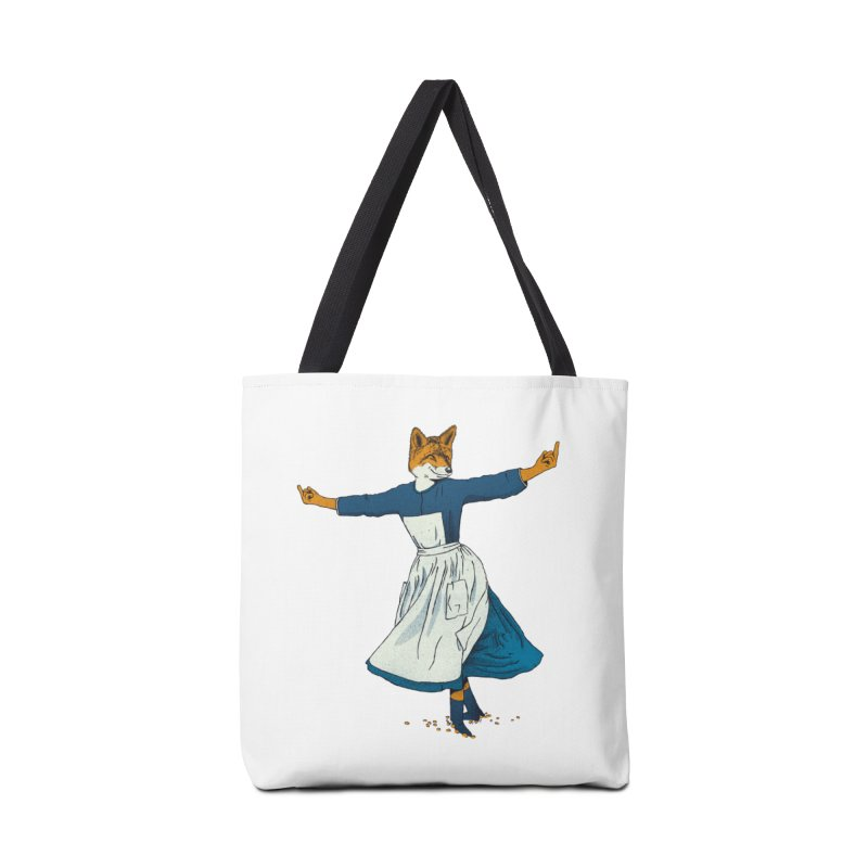 Look At All The Fox I Give - V2 Accessories Bag by gintron's Artist Shop