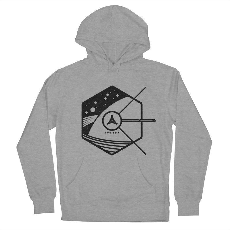 In Honour of Cassini–Huygens Men's French Terry Pullover Hoody by gintron's Artist Shop