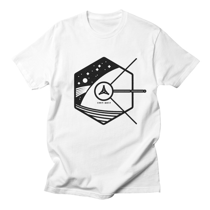 In Honour of Cassini–Huygens Men's T-shirt by gintron's Artist Shop