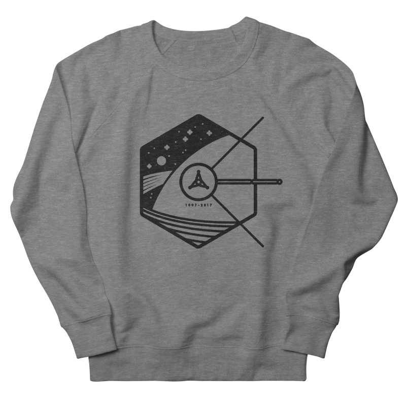 In Honour of Cassini–Huygens Men's French Terry Sweatshirt by Gintron