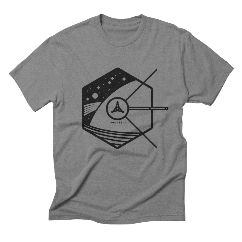 In Honour of Cassini–Huygens in Men's Triblend T-Shirt Grey Triblend by gintron's Artist Shop