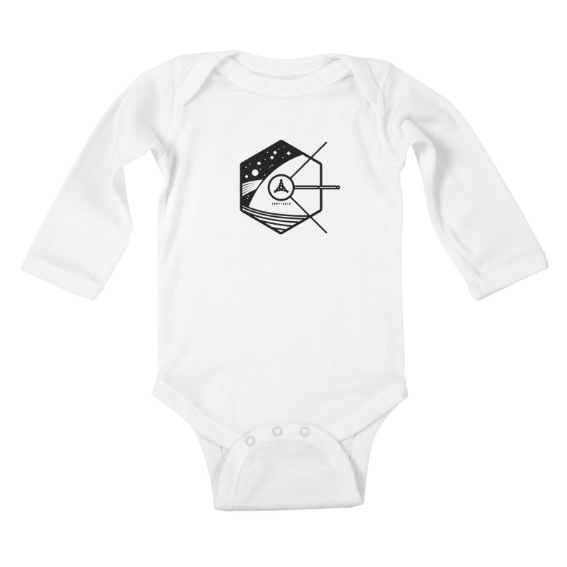 In Honour of Cassini–Huygens Kids Baby Longsleeve Bodysuit by gintron's Artist Shop