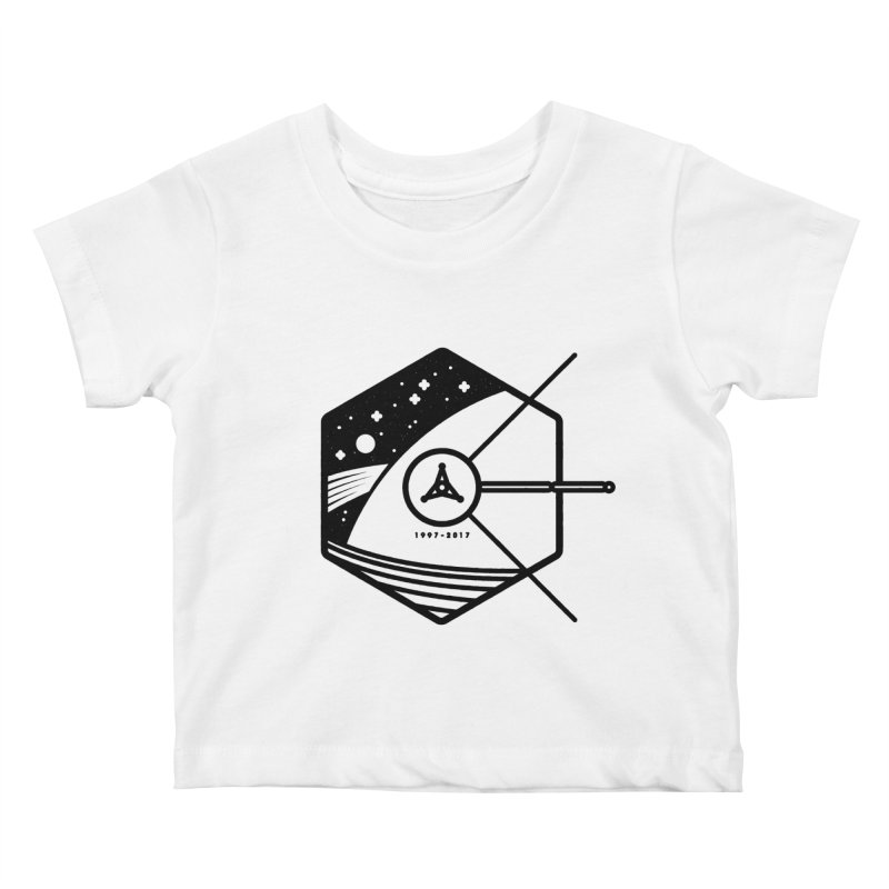 In Honour of Cassini–Huygens Kids Baby T-Shirt by gintron's Artist Shop