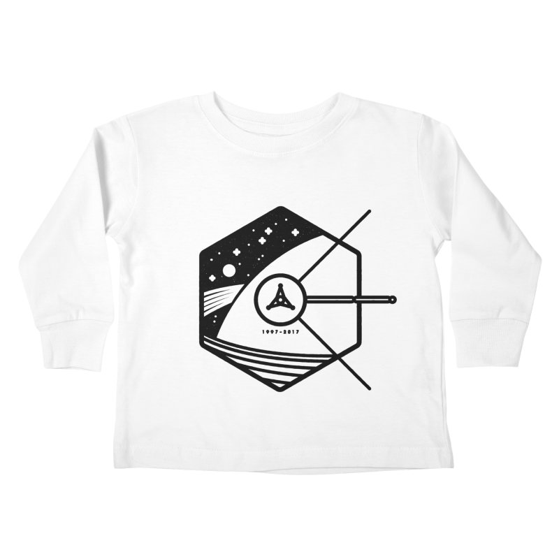 In Honour of Cassini–Huygens Kids Toddler Longsleeve T-Shirt by gintron's Artist Shop