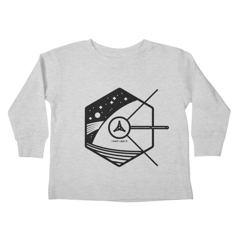 In Honour of Cassini–Huygens Kids Toddler Longsleeve T-Shirt by Gintron