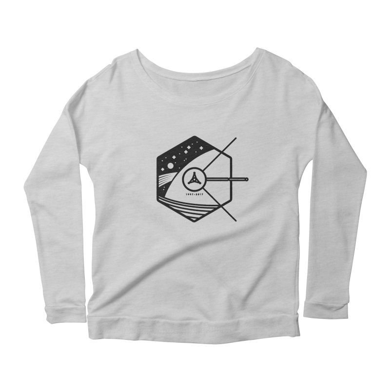 In Honour of Cassini–Huygens Women's Scoop Neck Longsleeve T-Shirt by gintron's Artist Shop