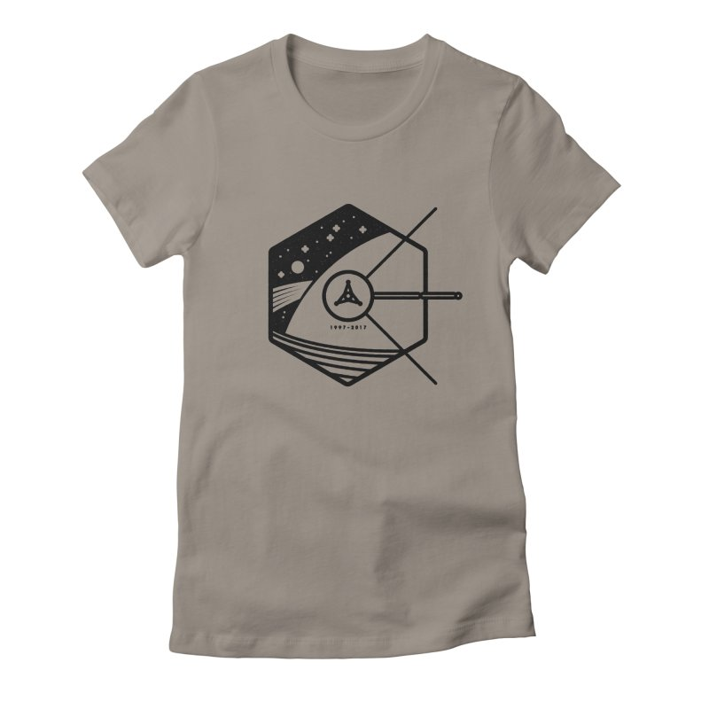 In Honour of Cassini–Huygens Women's Fitted T-Shirt by gintron's Artist Shop