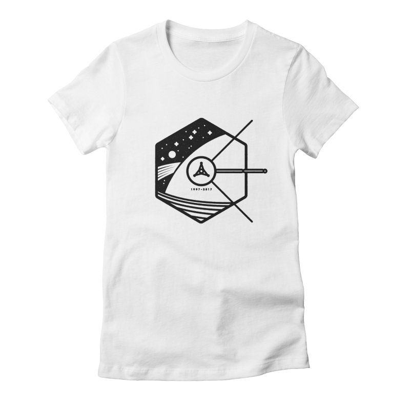 In Honour of Cassini–Huygens Women's Fitted T-Shirt by Gintron