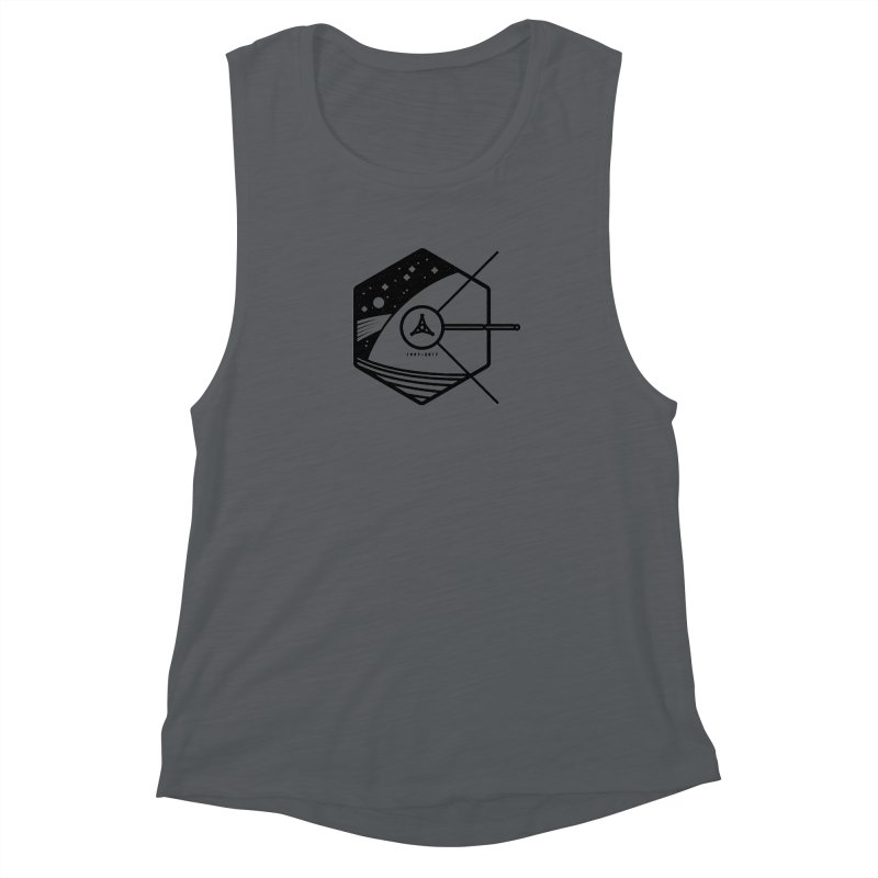 In Honour of Cassini–Huygens Women's Muscle Tank by gintron's Artist Shop
