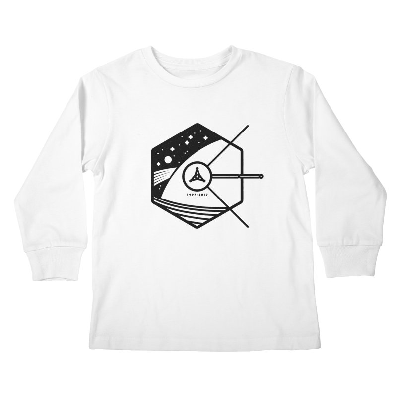 In Honour of Cassini–Huygens Kids Longsleeve T-Shirt by Gintron