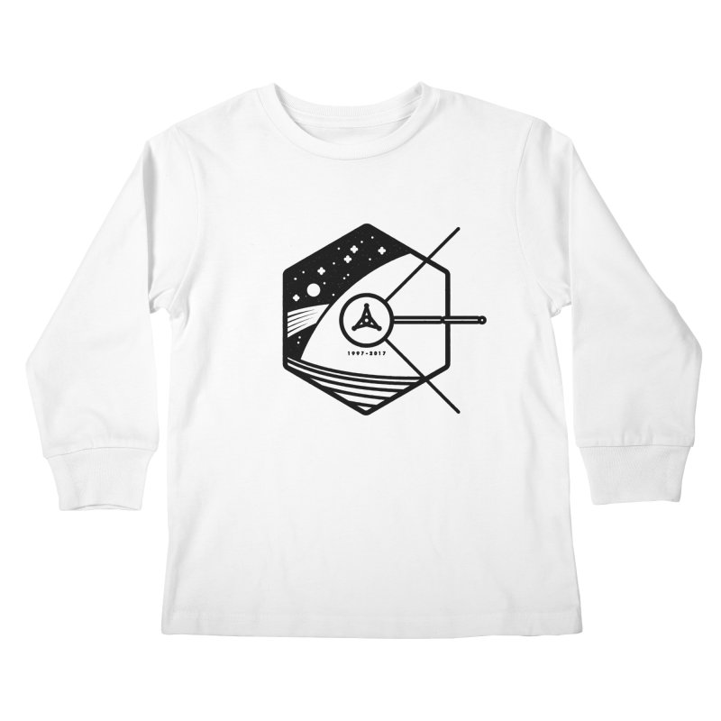 In Honour of Cassini–Huygens Kids Longsleeve T-Shirt by gintron's Artist Shop