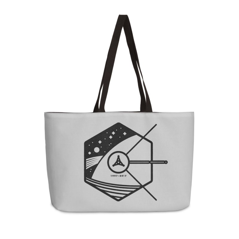In Honour of Cassini–Huygens Accessories Weekender Bag Bag by Gintron