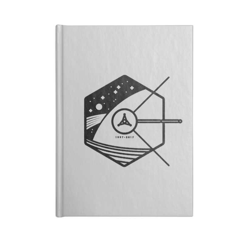 In Honour of Cassini–Huygens Accessories Lined Journal Notebook by Gintron